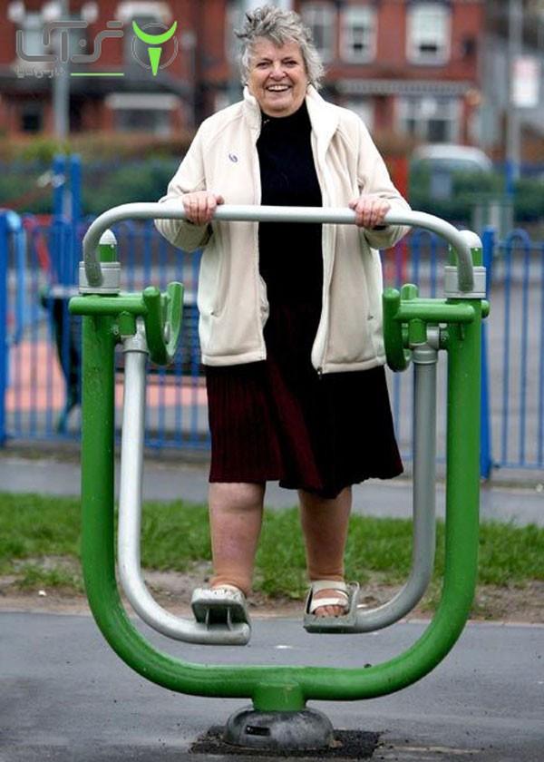 فواید ورزش پارکی