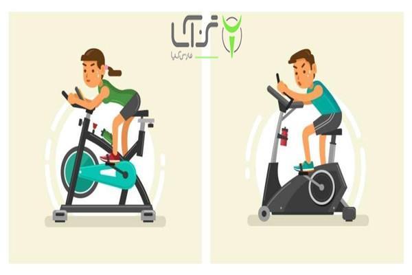 تفاوت الپتیکال با دوچرخه ثابت